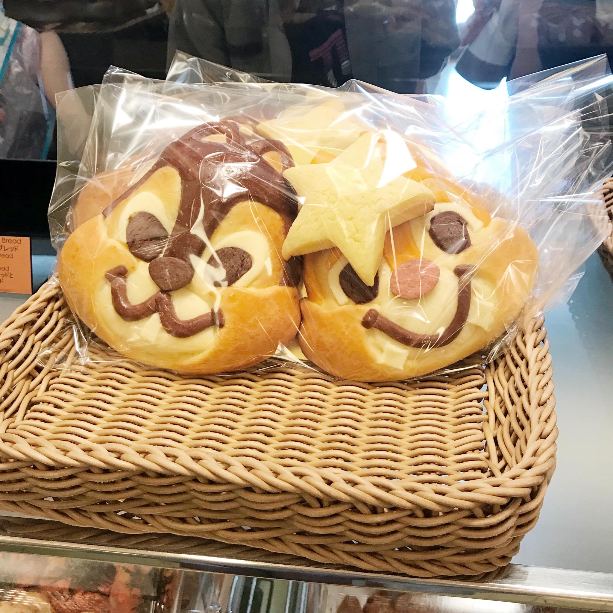 【チップとデールパン】こんなに可愛いパンが買えちゃう!チックタック・ダイナーって?_4