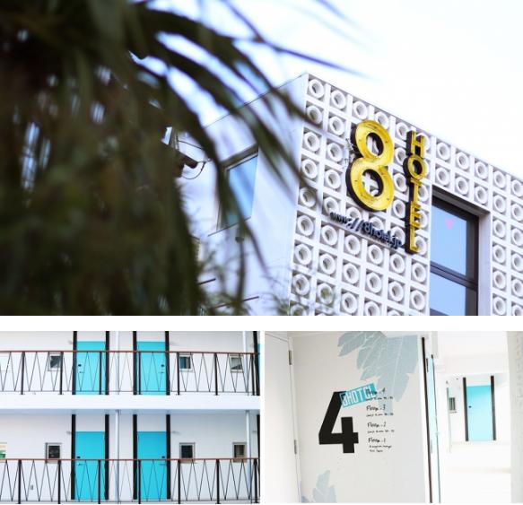 湘南・茅ヶ崎にプール・サウナ付きホテル『8HOTEL CHIGASAKI』が誕生! 海外リゾートのような空間にワクワク♡_1