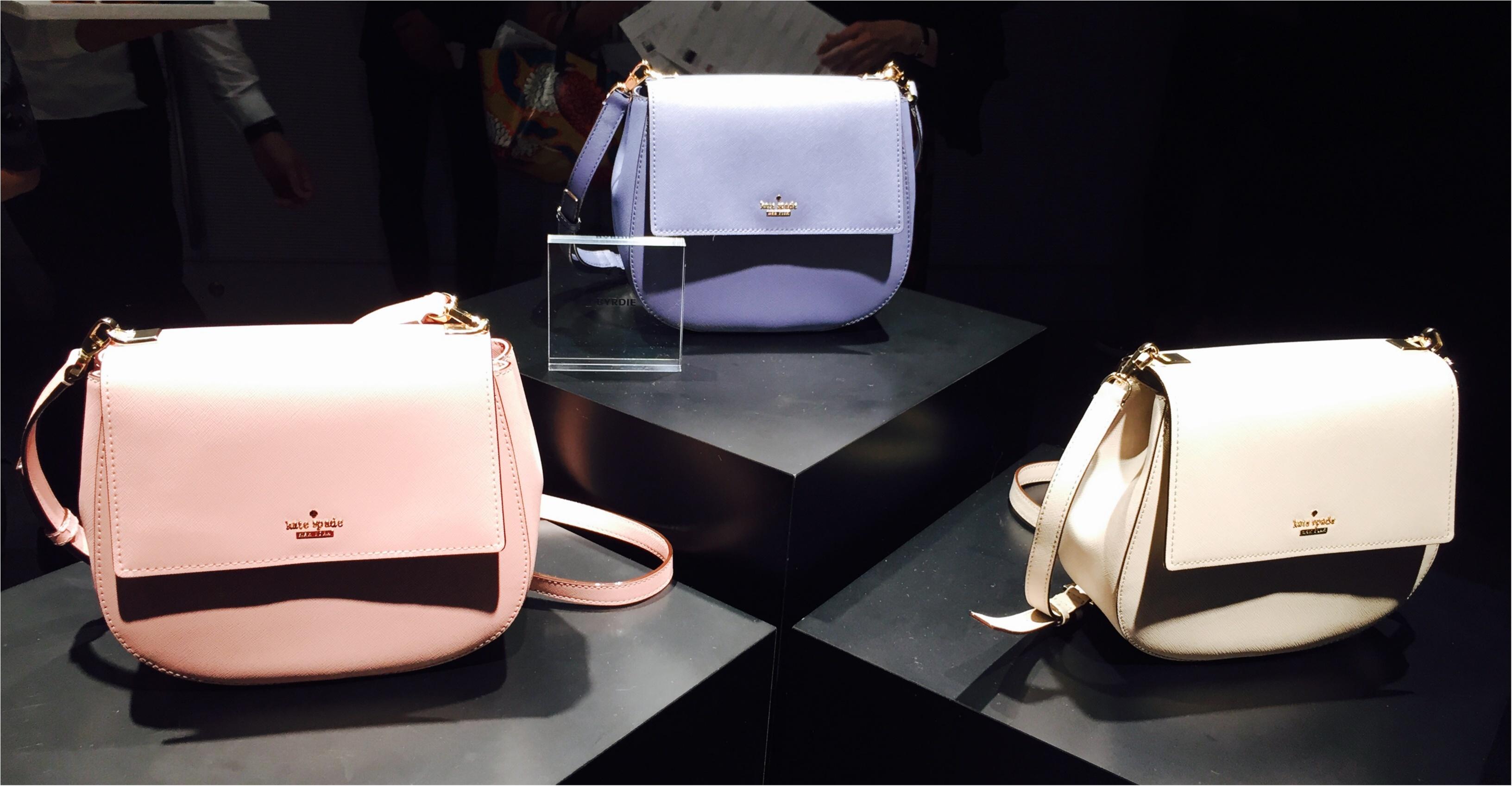 ケイト・スペード ニューヨーク、秋のバッグはどれを選ぶ?_1