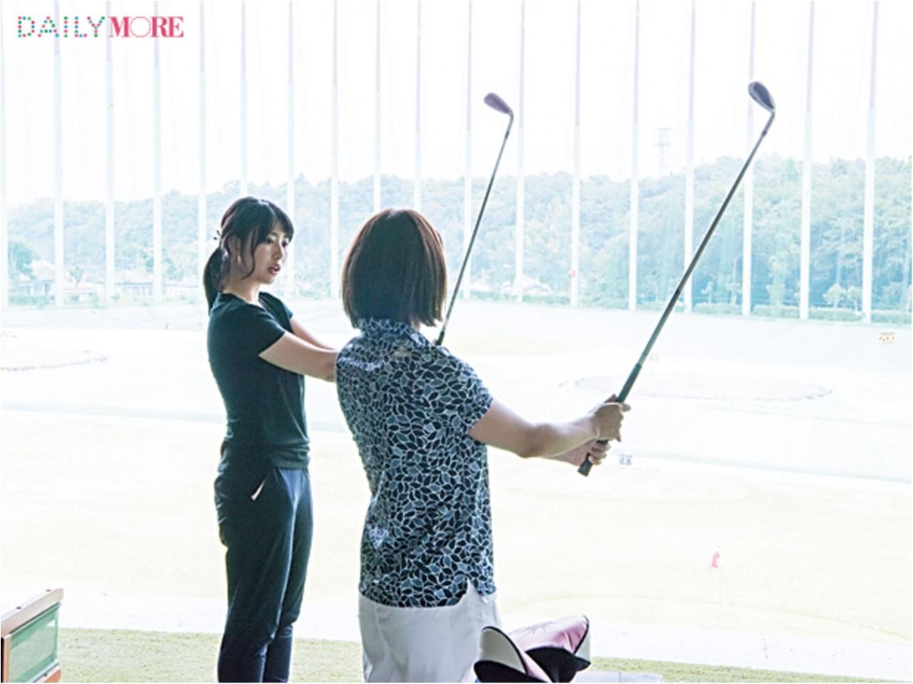 【動画もチェック!】 プロコーチのレッスンで、スイングをレベルアップ!【#モアチャレ ゴルフ100台チャレンジ】_2_2