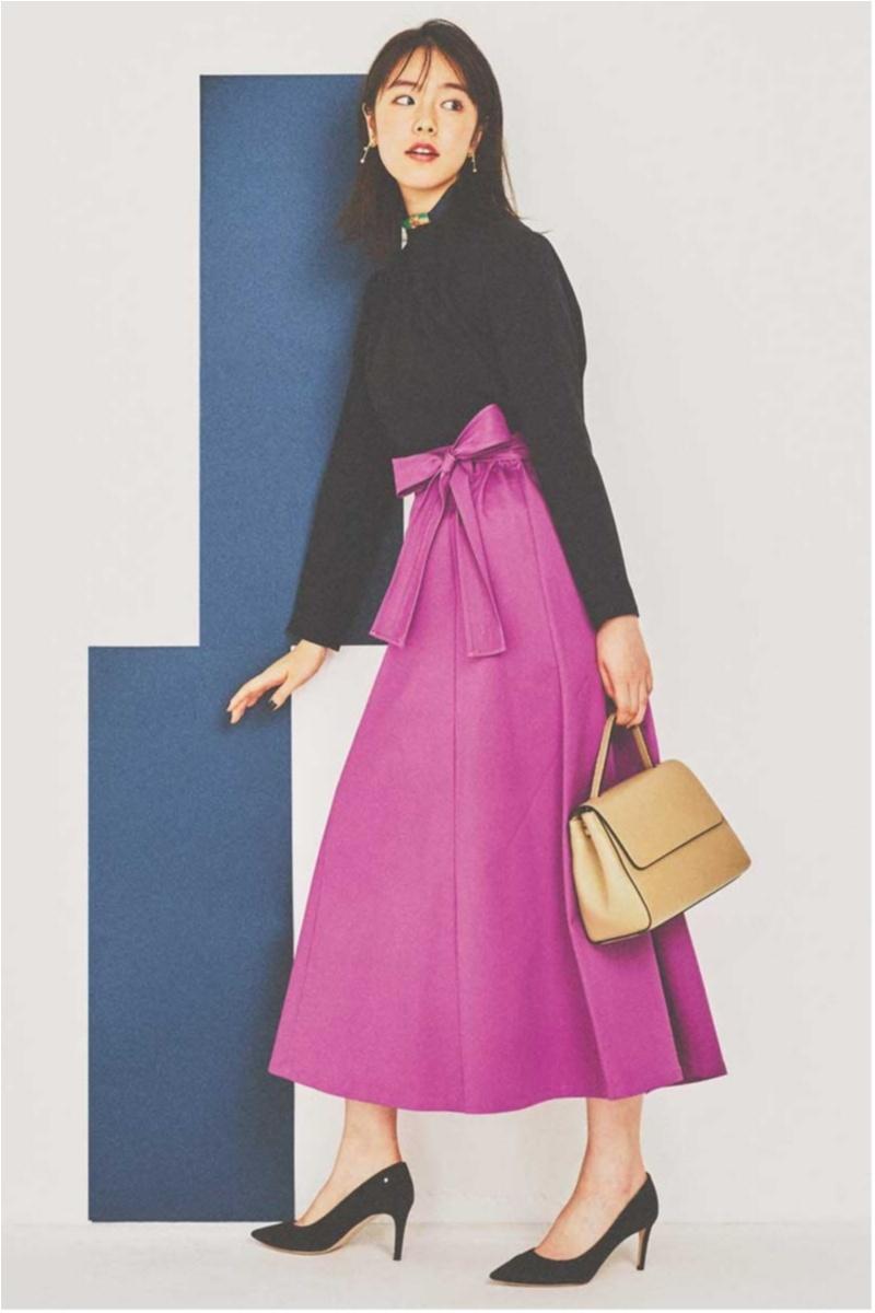 ちょっと上のおしゃれも目指せる! 旬の【トレンチスカート】コーデ15選 | ファッション(2018年秋)11