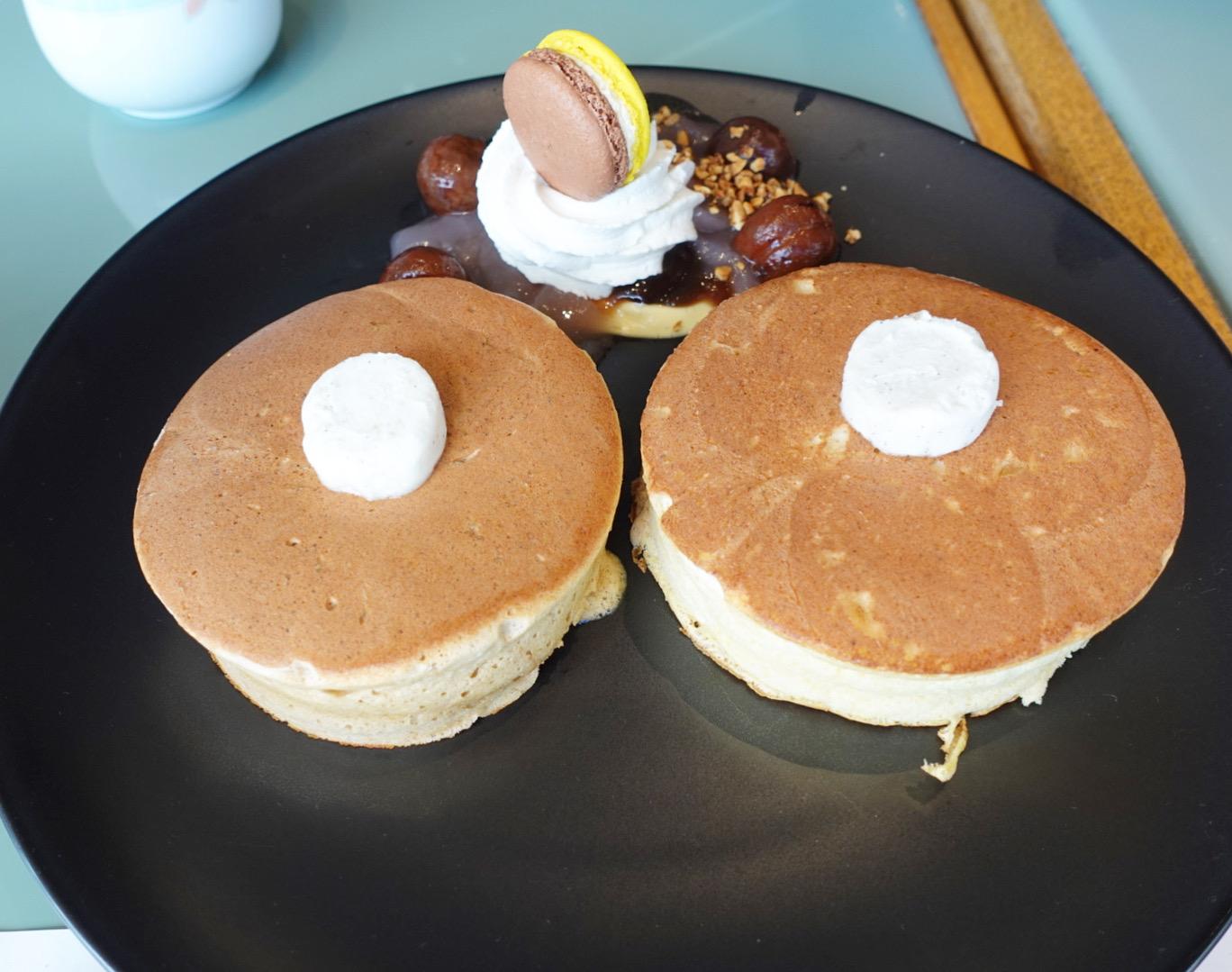 10周年を迎えた!菅総理も大好き!?な「ホテルニューオータニ」の「SATSUKI」の特製パンケーキ!マロンパンケーキ2020はカスカラパウダー入り!?_1