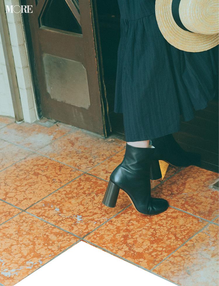 佐藤栞里が愛用しているセリーヌのブーツ