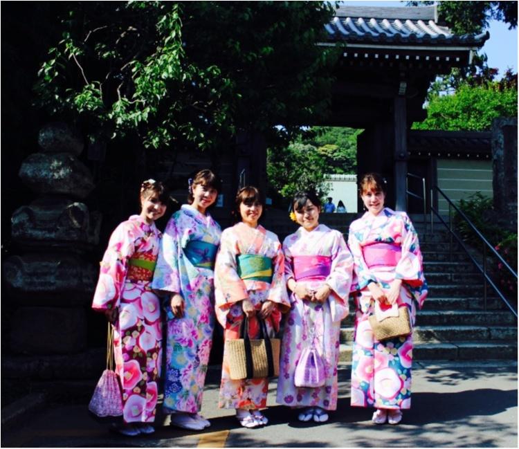 ♡【モアハピ女子会】着物レンタルは5名以上がお得!!可愛く鎌倉散策しちゃいましょう♡_4