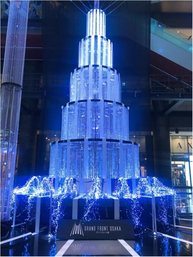 光のアート☆スワロフスキークリスタルのツリーで特別なクリスマスに♡_2