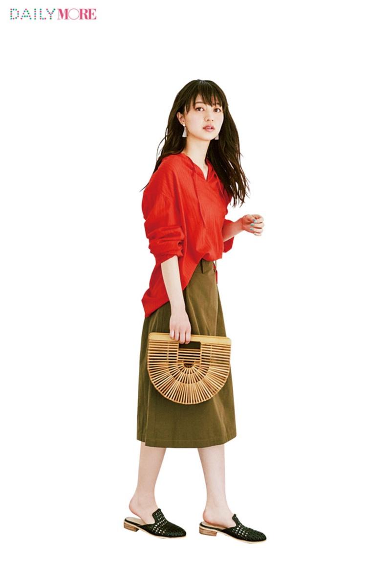 シンプルで、女っぽくて、でも普通すぎないって最高! 【ラップスカート】こそMORE世代の新定番だ!!_2