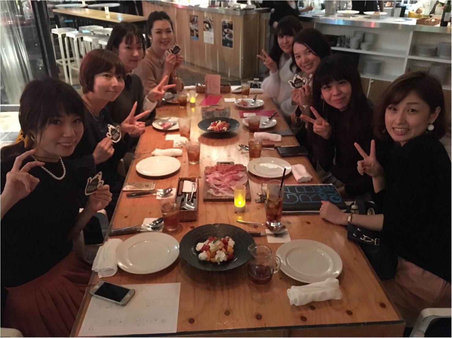 関西モアハピ部女子会♡大阪・都会の真ん中で乾杯☆_1