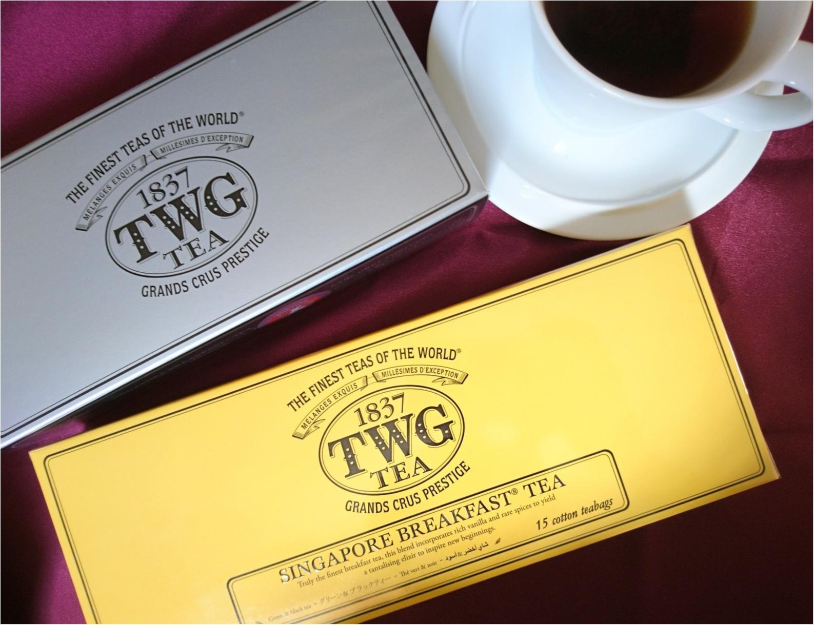 ≪海外旅行/シンガポール/お土産編≫ばらまき&自分用に。TWGの香り高い紅茶がおススメ!_4