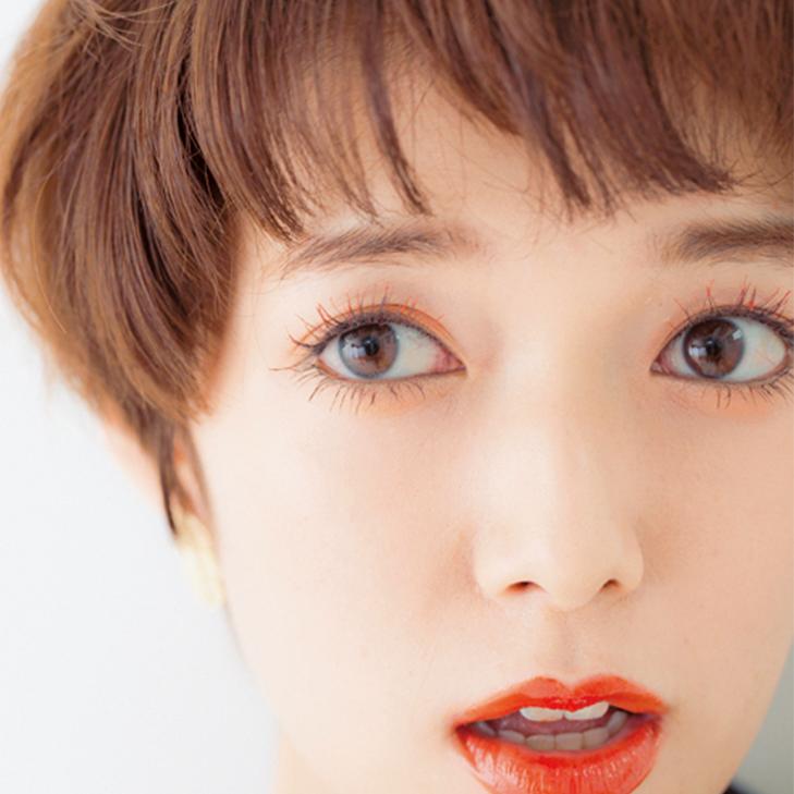 """女子ウケは""""カラーマスカラ""""でかなう!超簡単「脱・黒がちアイメイク」レシピ★_6"""