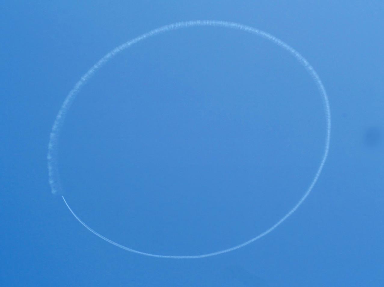 【Fly for ALL #大空を見上げよう】東京の空にニコちゃんマークが出現!一瞬の幸せをシェア☻♡_2
