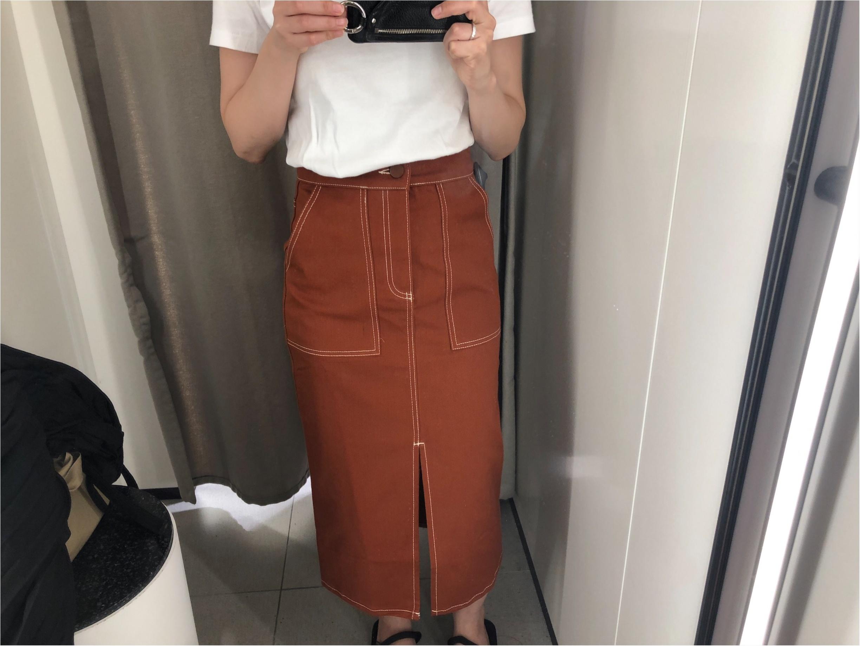 《ZARA》で秋支度!秋にたっぷり使えるスカートが可愛い!_2
