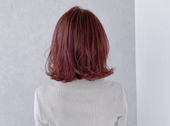 ブリーチ無しでキュートなピンク髪に!話題の#わたるマジック でダークストロベリーミルクに染めました♡