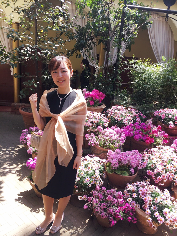 代官山ASOでレストランWedding!結婚式のドレスは★黒★でキマリ!_15