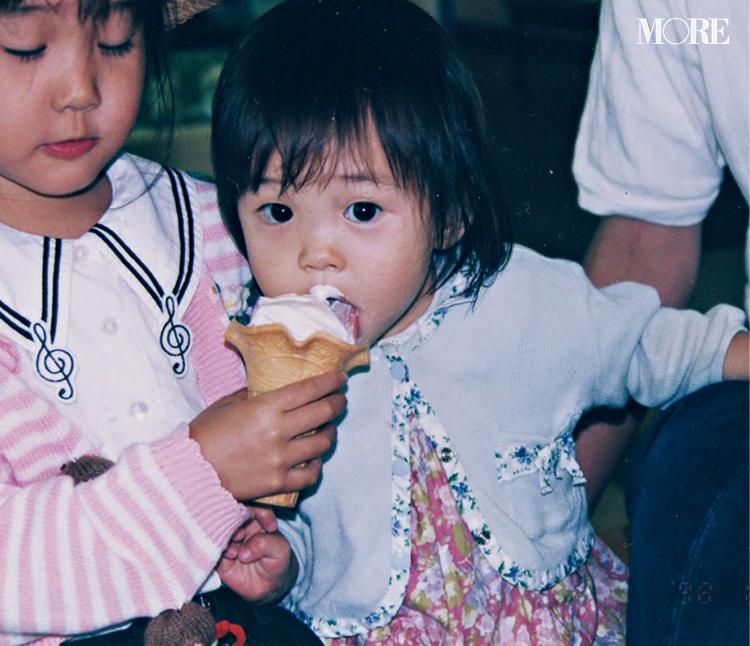 井桁弘恵、幼少期から大のお姉ちゃんっ子でした♡ アイスクリームを頬張るレアショットを入手!_2