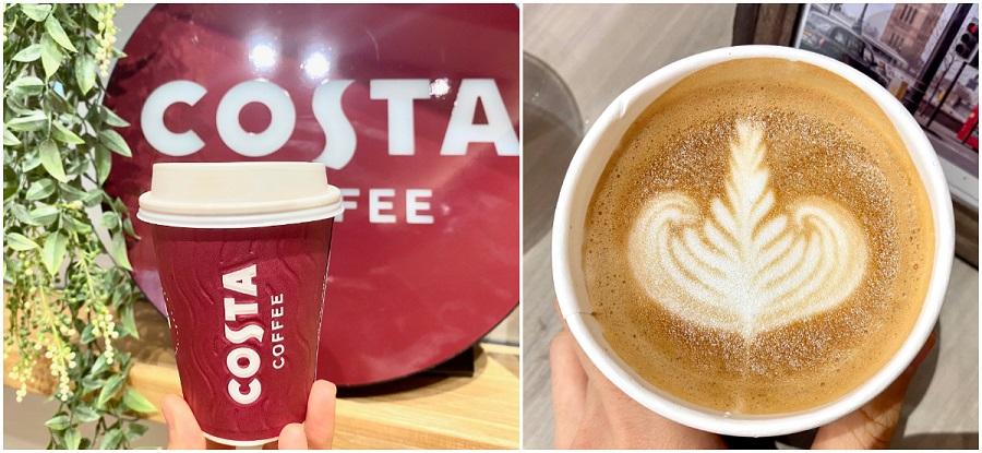 原宿竹下口にオープンした『コスタコーヒー』テイクアウト専門店。「フラットホワイト」