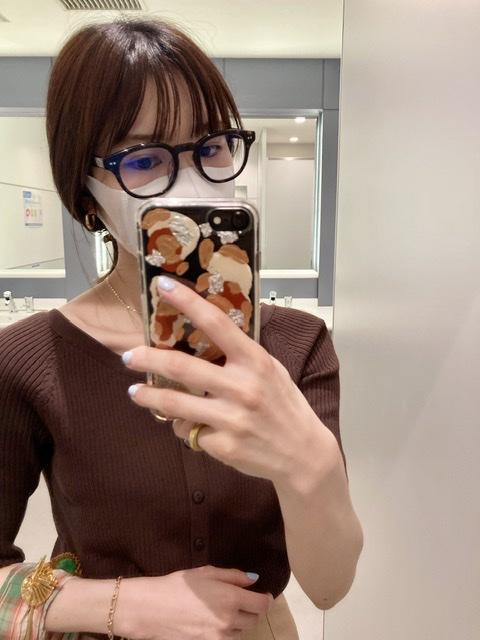 メガネ着用写真