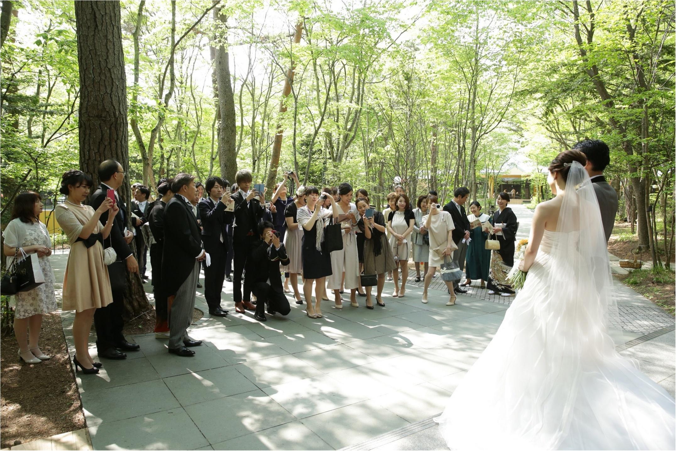 まるでCG!?なガーデンパーティ(軽井沢Weddingレポ③)_1