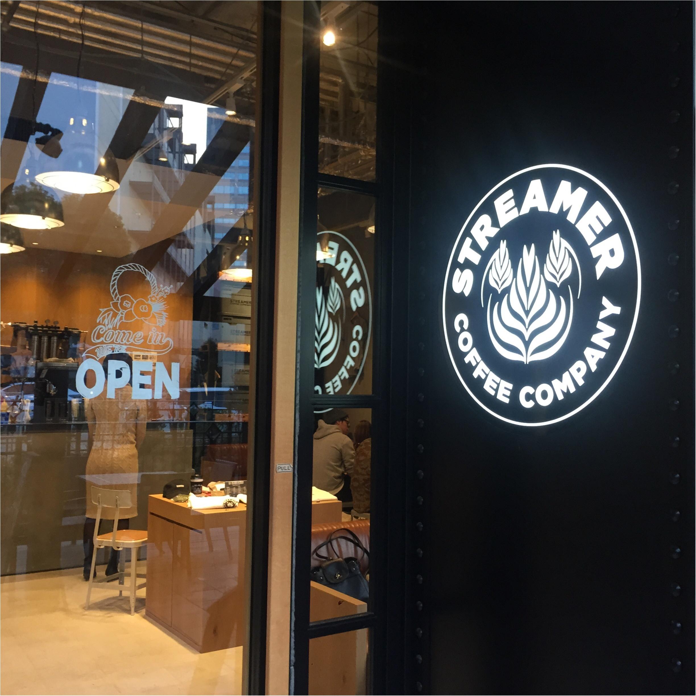 ストリーマーコーヒーカンパニーのラテがフォトジェニック♡!_2