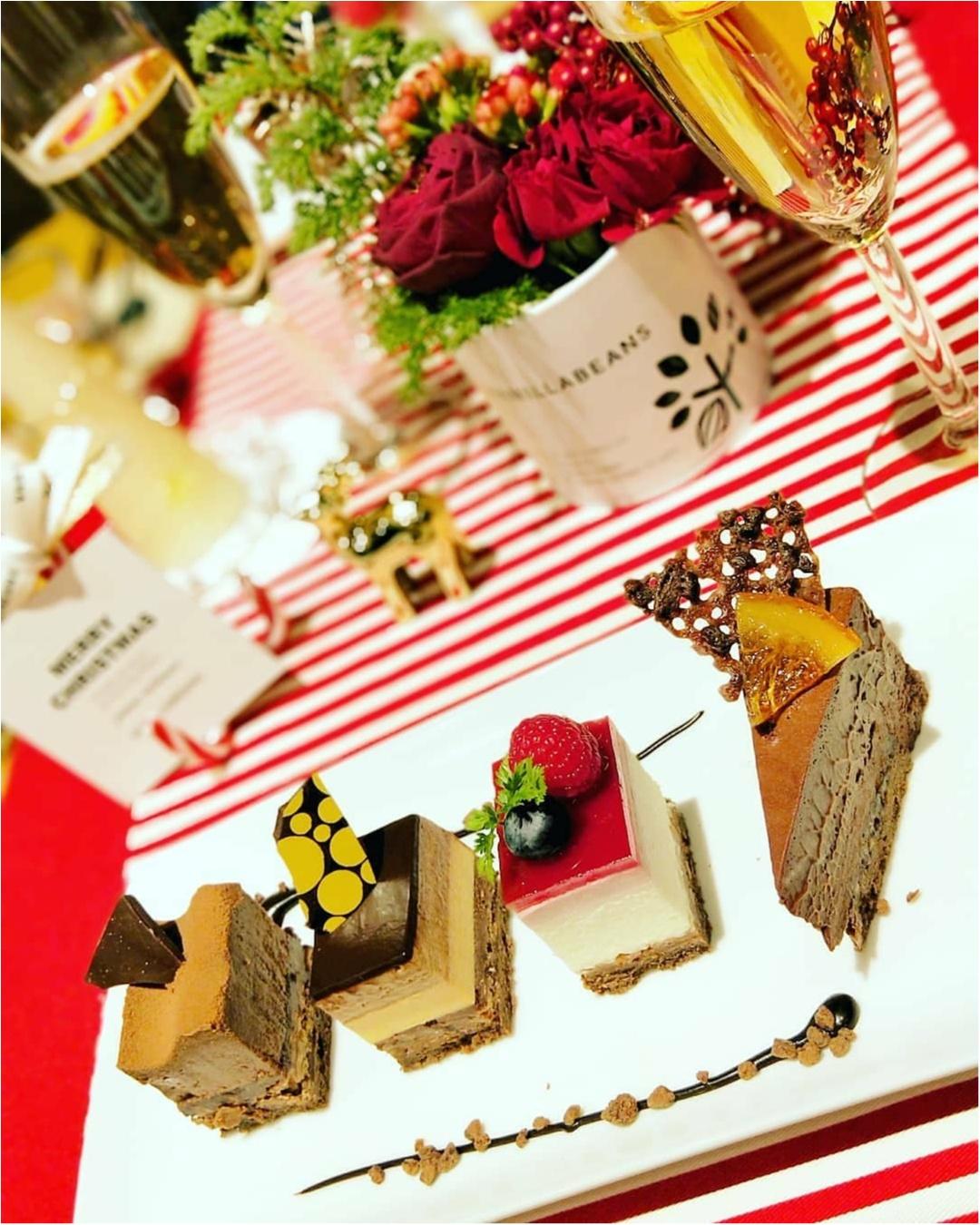 横浜チョコレート専門店「バニラビーンズ」のクリスマスケーキ試食会レポ♡_8