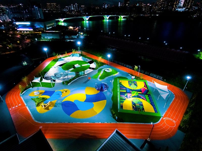 ゆりやんレトリィバァとワークアウト体験! 最新スポット『ナイキ』のスポーツパーク「TOKYO SPORT PLAYGROUND SPORT × ART」レポ☆_1