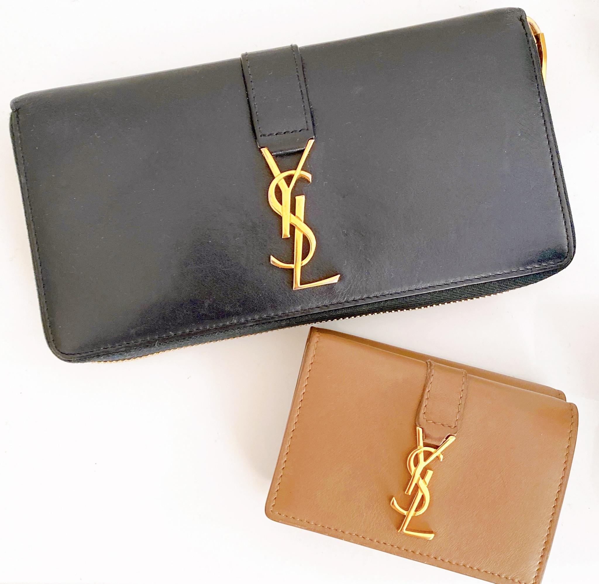 【20代女子の愛用財布】ミニ財布とおそろで持ちたい!イヴ・サンローラン_1
