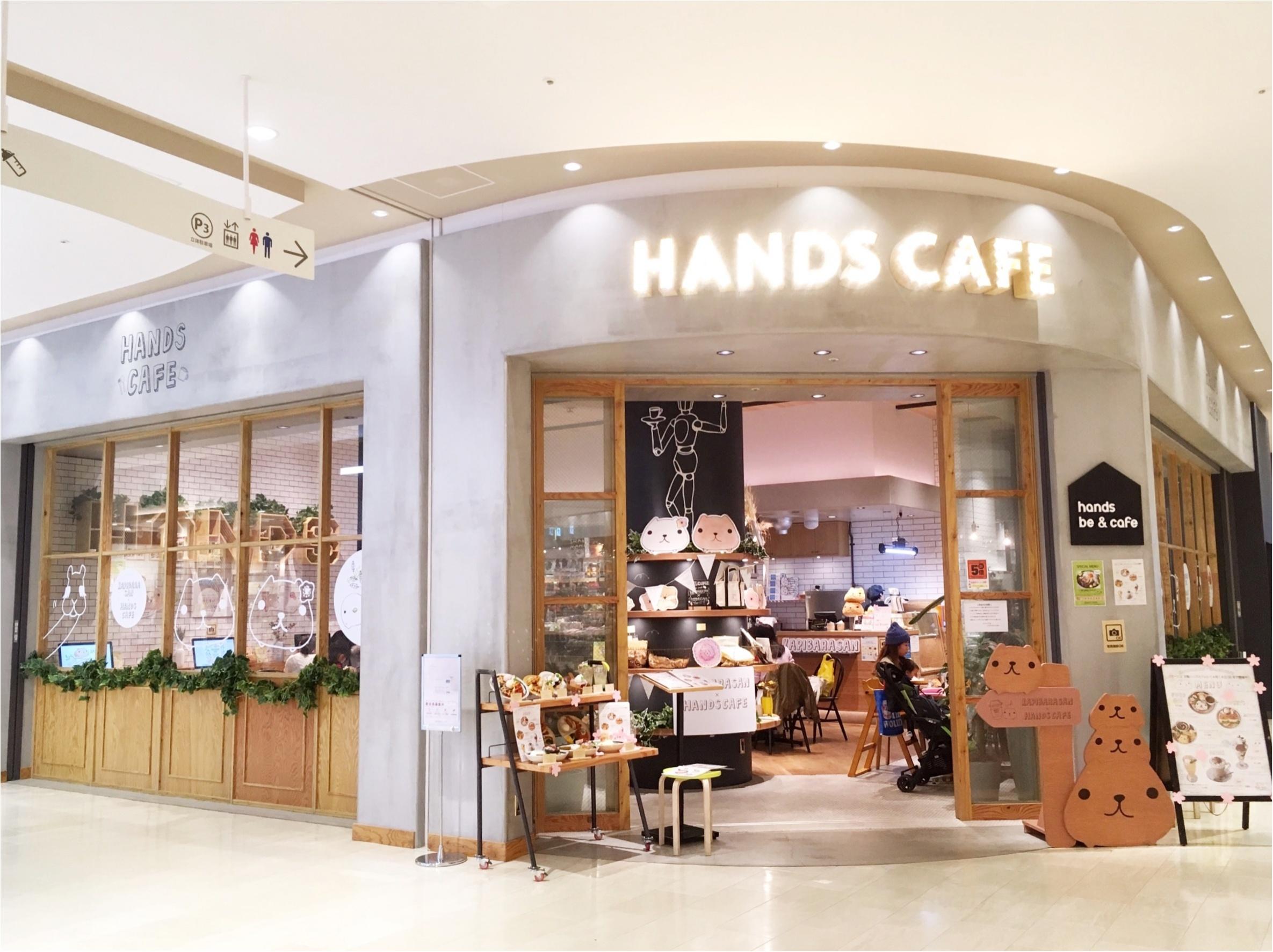 かわいすぎる新メニューが登場♡『カピバラさん×HANDS CAFE』に行ってきました٩(。•ω•。)و_2