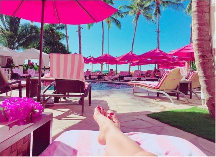 【TRIP】憧れのピンクパレス♡ロイヤルハワイアンのプールがフォトジェニックすぎる♡_2