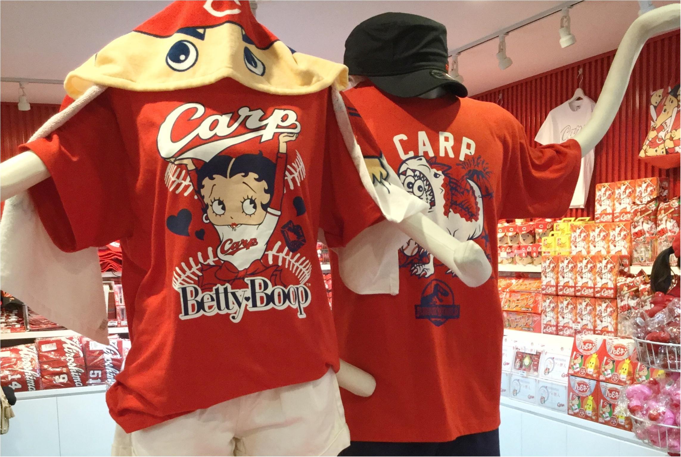 【カープ女子必見】ディズニーとのコラボ商品も新発売!カープをコンセプトとしたカフェバルも併設した《グッズ&カフェバル》としてリニューアルオープン♡_4