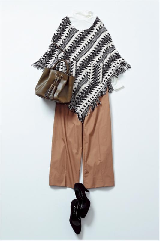 【2月に買って4月までずっと着る!】篠田麻里子のパンツ着まわし×3_3