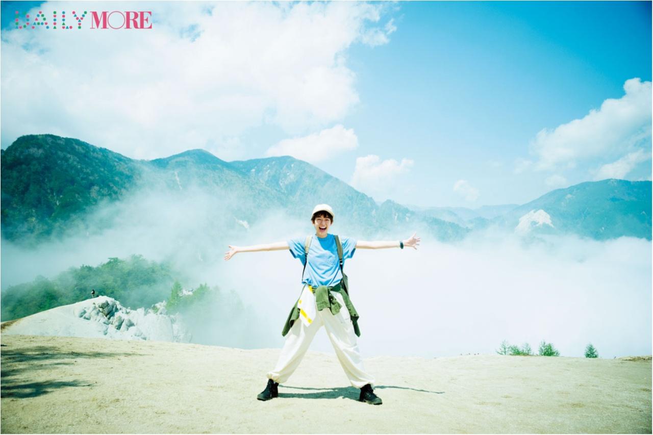 山に登るのって最高です♡ 佐藤栞里が『夏山ハイキング in 日向山!』にGO!【栞里のちょっと行ってみ!?】_1