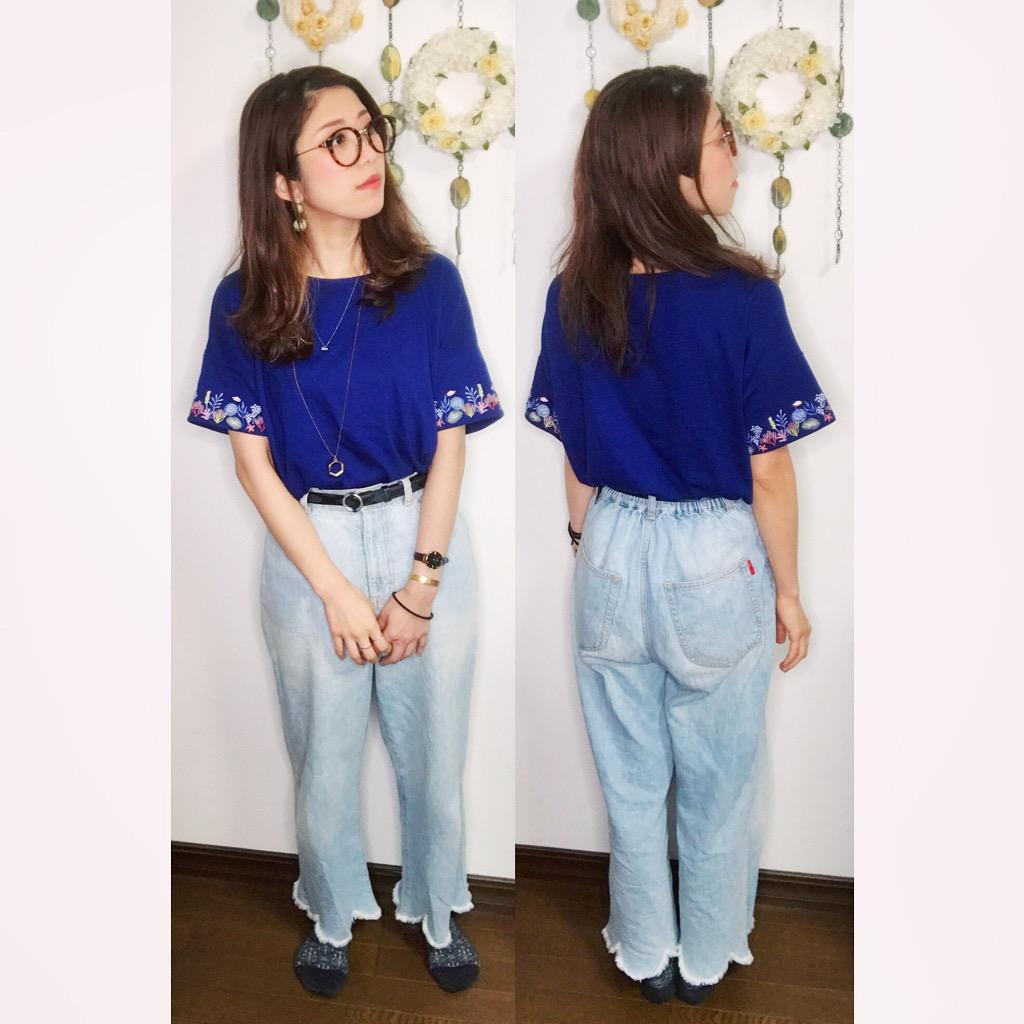 【オンナノコの休日ファッション】2020.5.31【うたうゆきこ】_1
