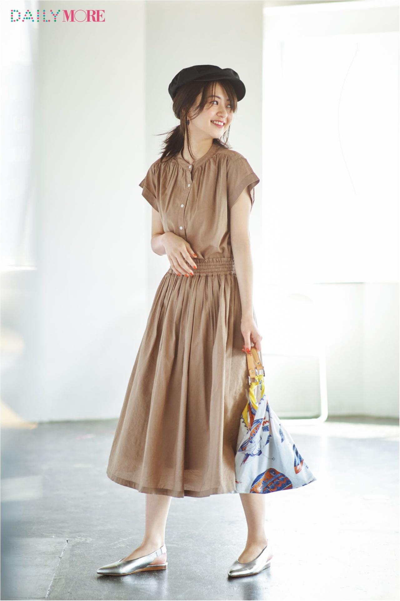 【MORE公式通販GET MORE!ですぐ買える!】体がきれいに見えるブラウスとスカート、その理由は?_1