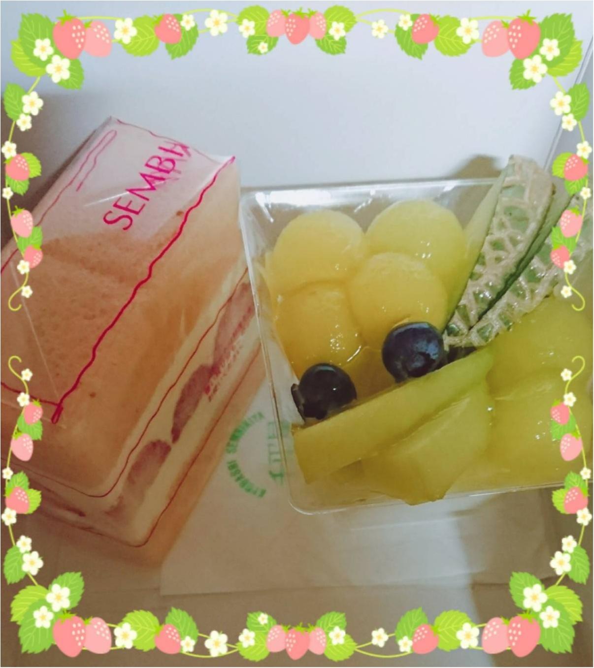 【渋谷ヒカリエShinQs 千疋屋】〈限定〉さくら味のサンドケーキ_1
