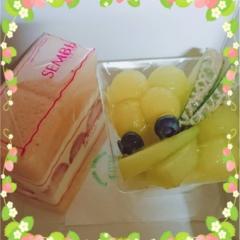 【渋谷ヒカリエShinQs 千疋屋】〈限定〉さくら味のサンドケーキ