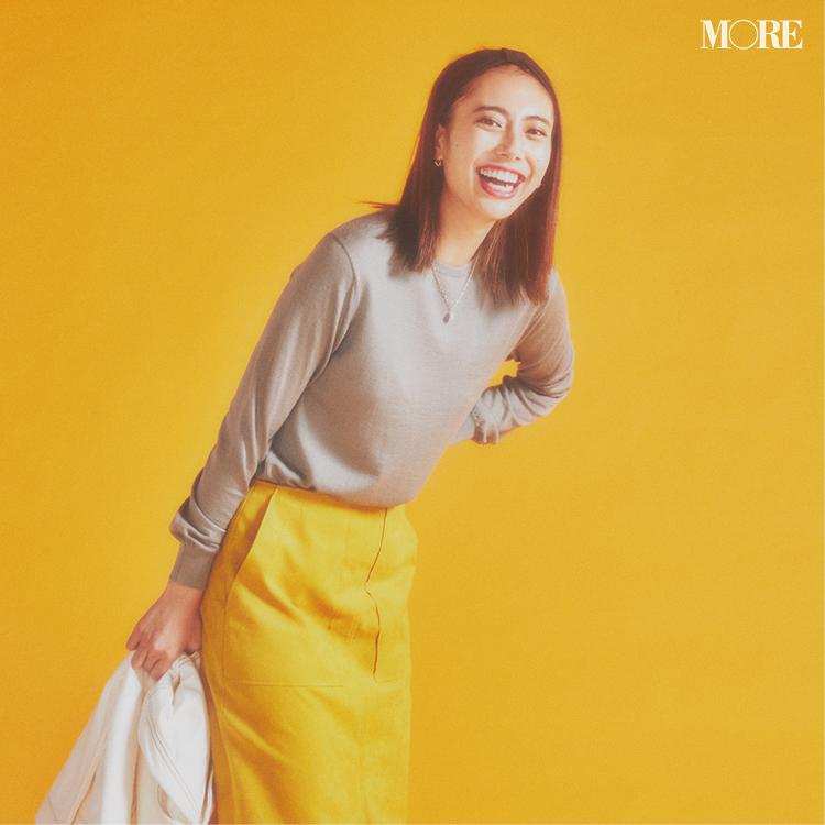 ニットの色に迷ったら。「くすみアースカラー」が絶妙におしゃれで着やすいらしい!_4
