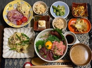 みおずきっちん♡海鮮丼