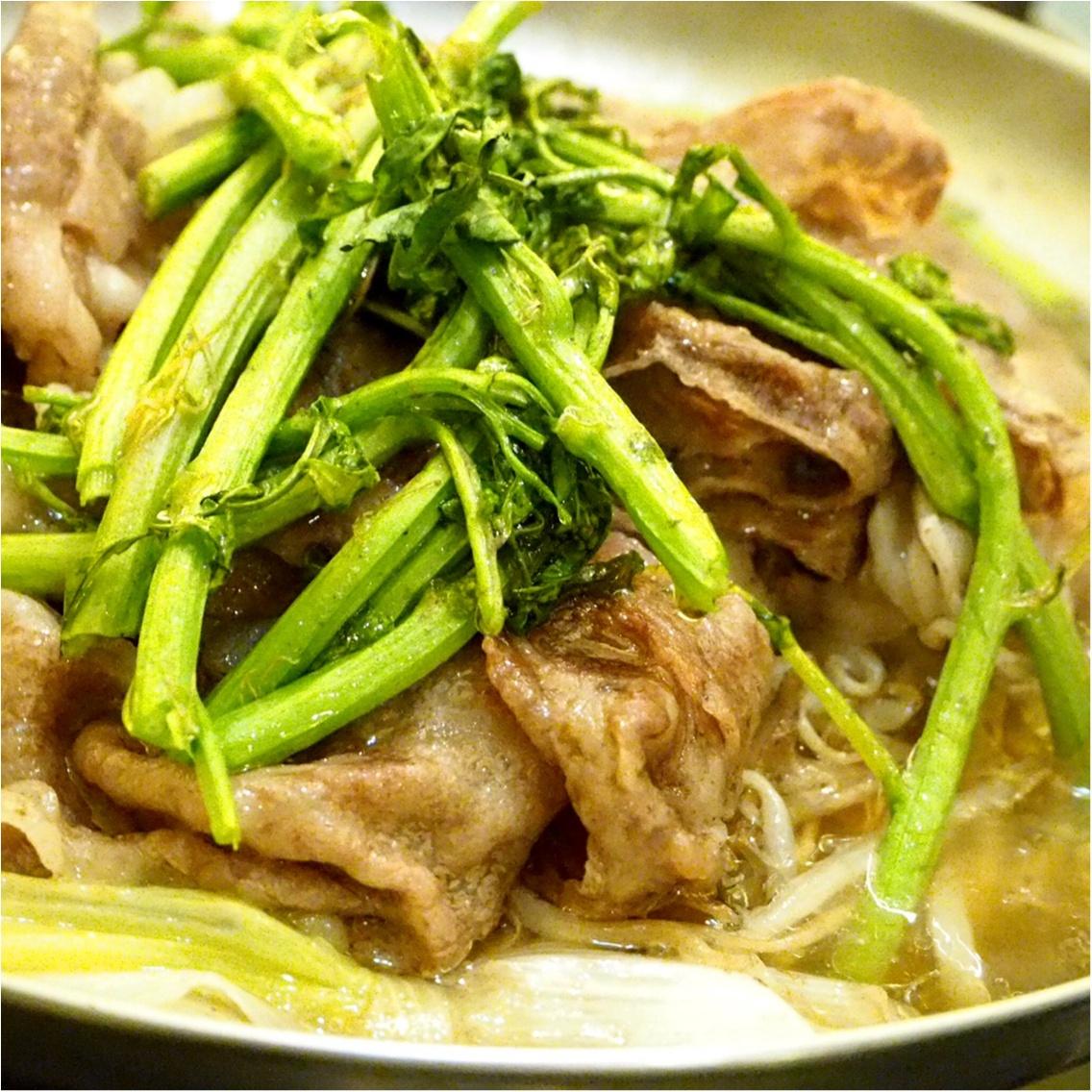 暑い夏こそ食べなきゃ♡塩すき鍋は特製の氷ダレをのせてさっぱりとした味わい_9