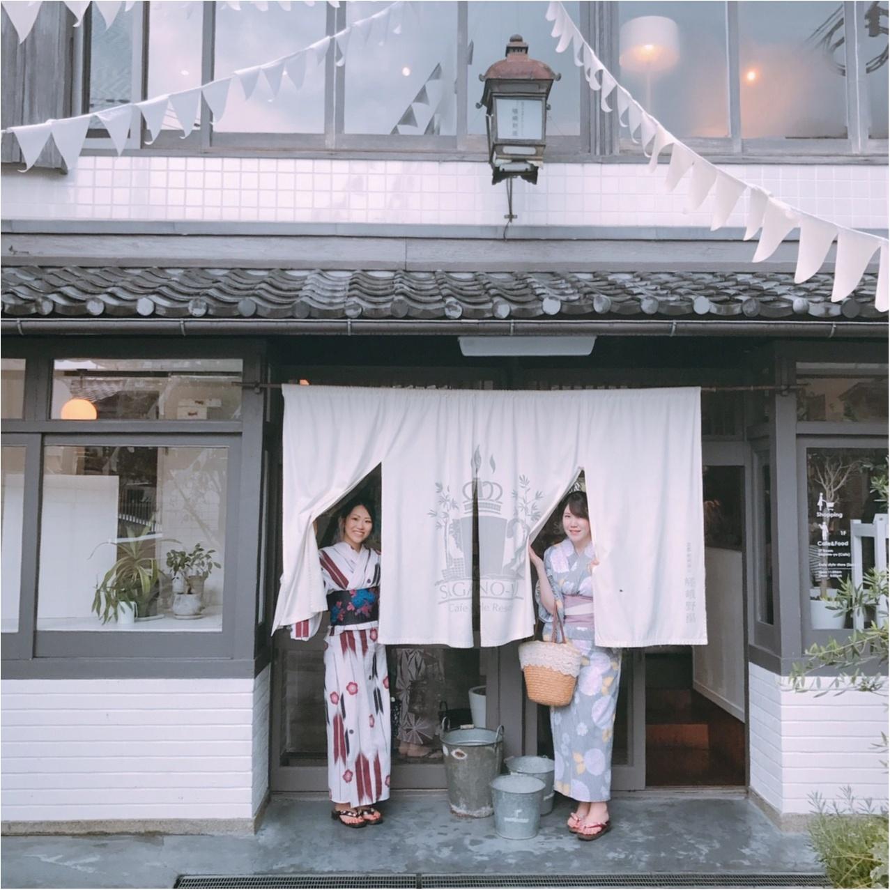【京都女子旅】銭湯をリノベした素敵カフェ『嵯峨野湯』でランチ!_1