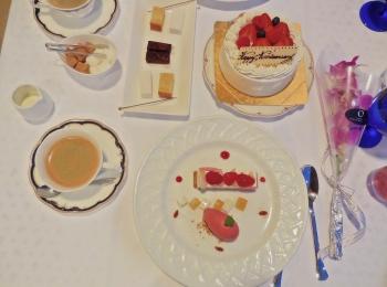 結婚記念日ディナー