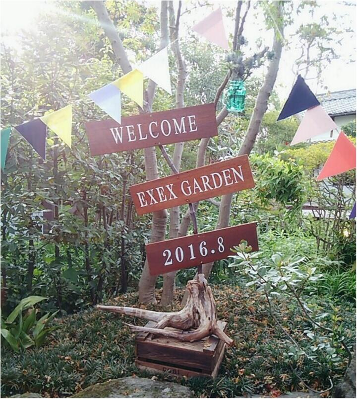 """結婚式を挙げた式場で""""キャンプ""""をテーマとした『WELCOME BACK PARTY』が開催されました!!結婚式のアイデアとしても魅力満載!(443 まゆ  _1"""