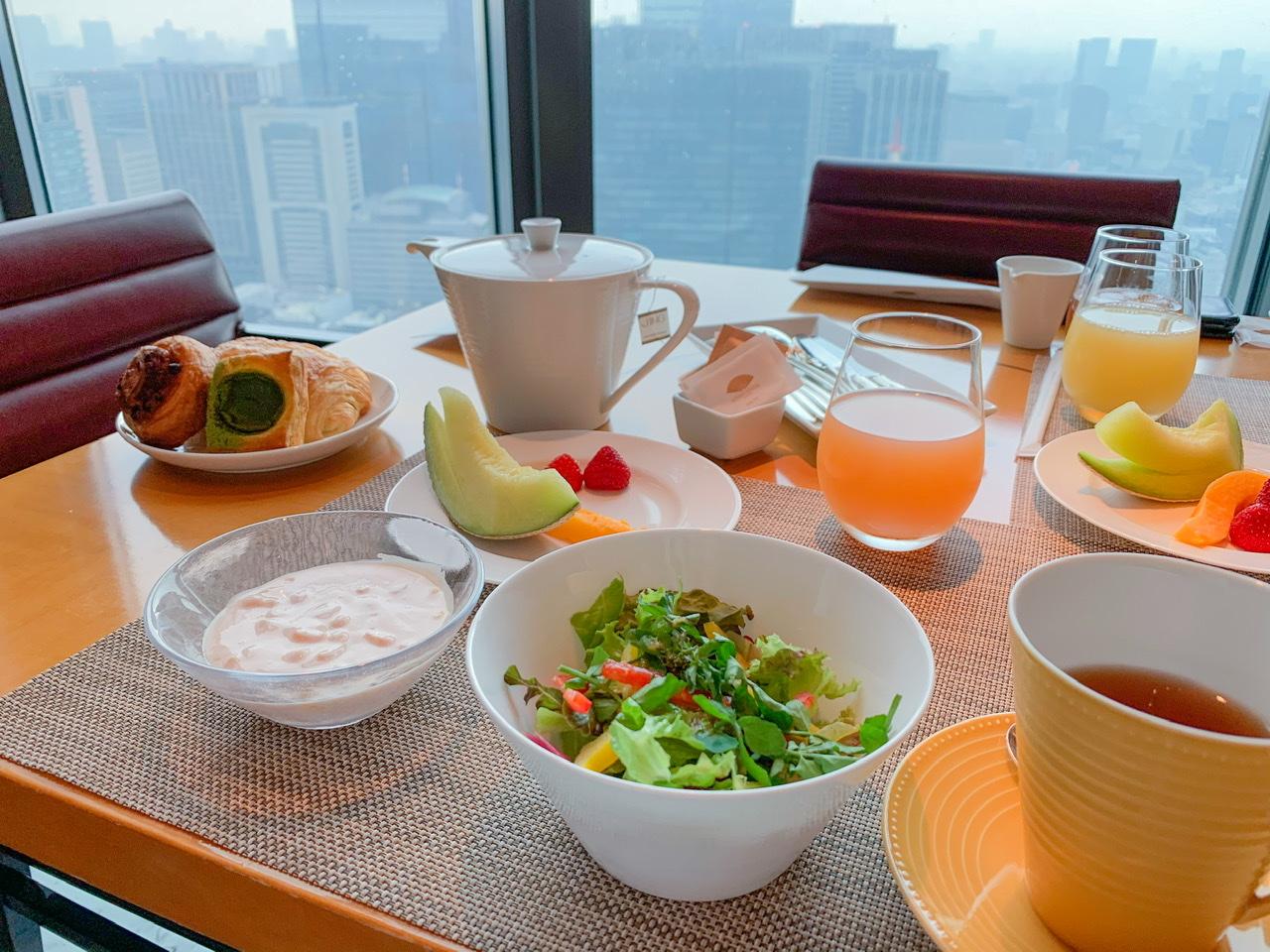ケシキの朝食