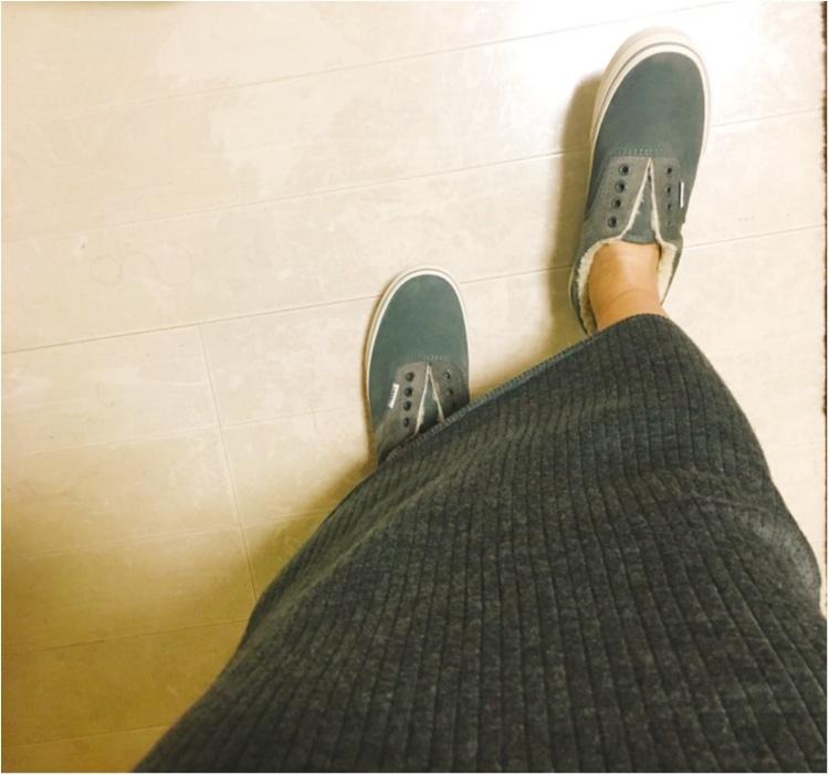 《一度履いたらやみつき♡》VANSのボアスニーカーが可愛い上に足元ぬくぬく♡_5