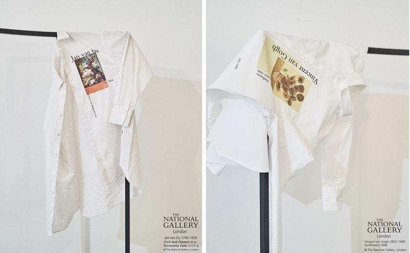 リリーブラウン、コラボの白、ベージュシャツ