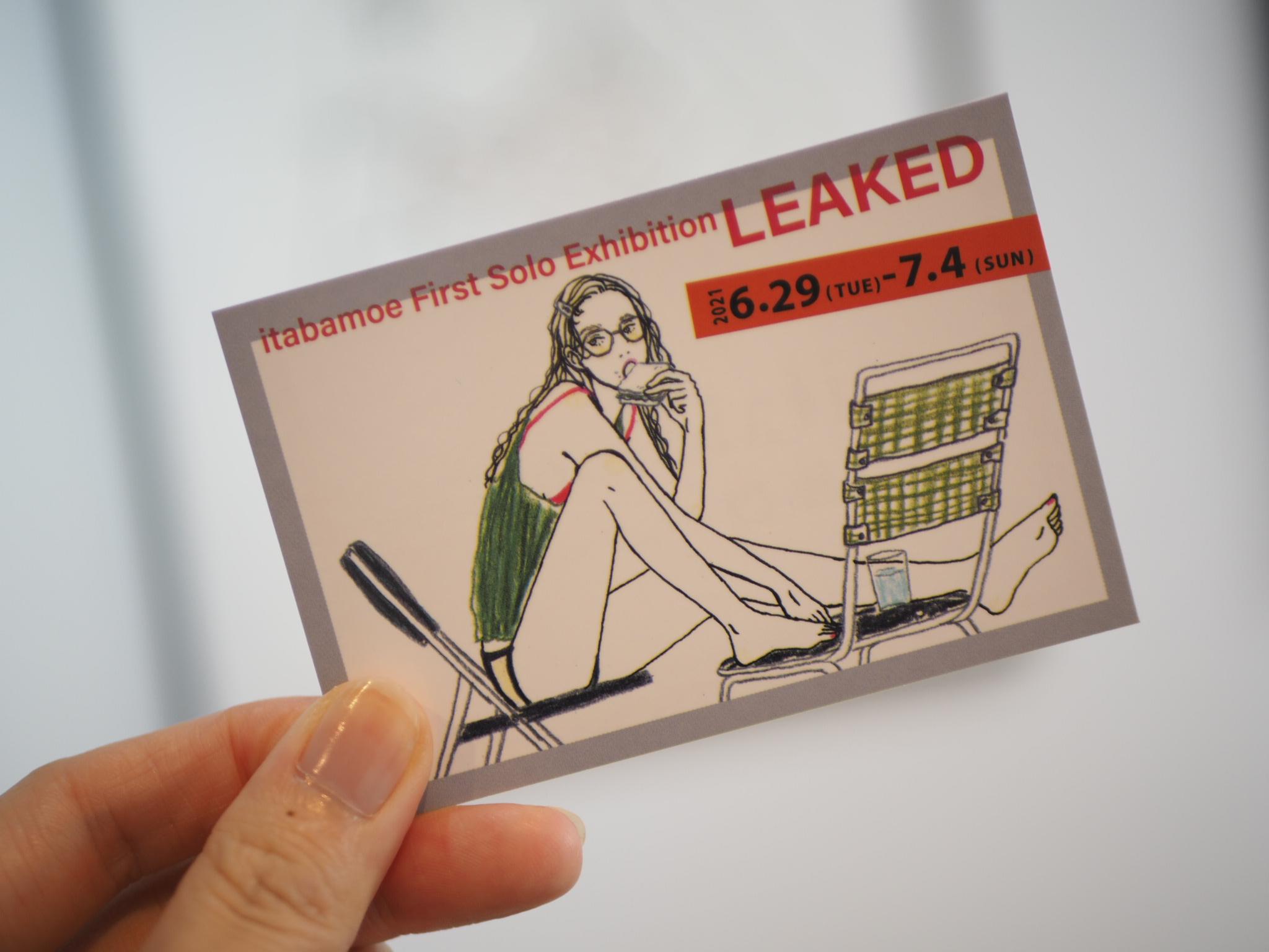 人気イラストレーター【itabamoeさん】初の個展にお邪魔してきました✐⿻*_11