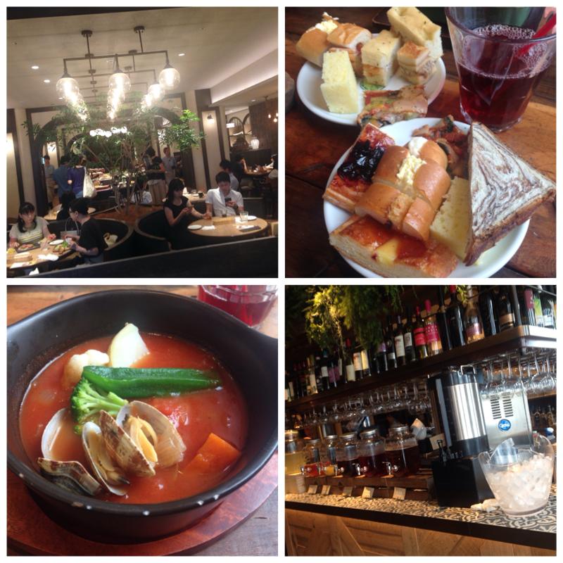 【新宿】え、新宿にこんな素敵なレストランあるの知ってた!?絶対リピートしたいお店発見\(^o^)/パン、パクチー食べ放題もやってるよ〜_11