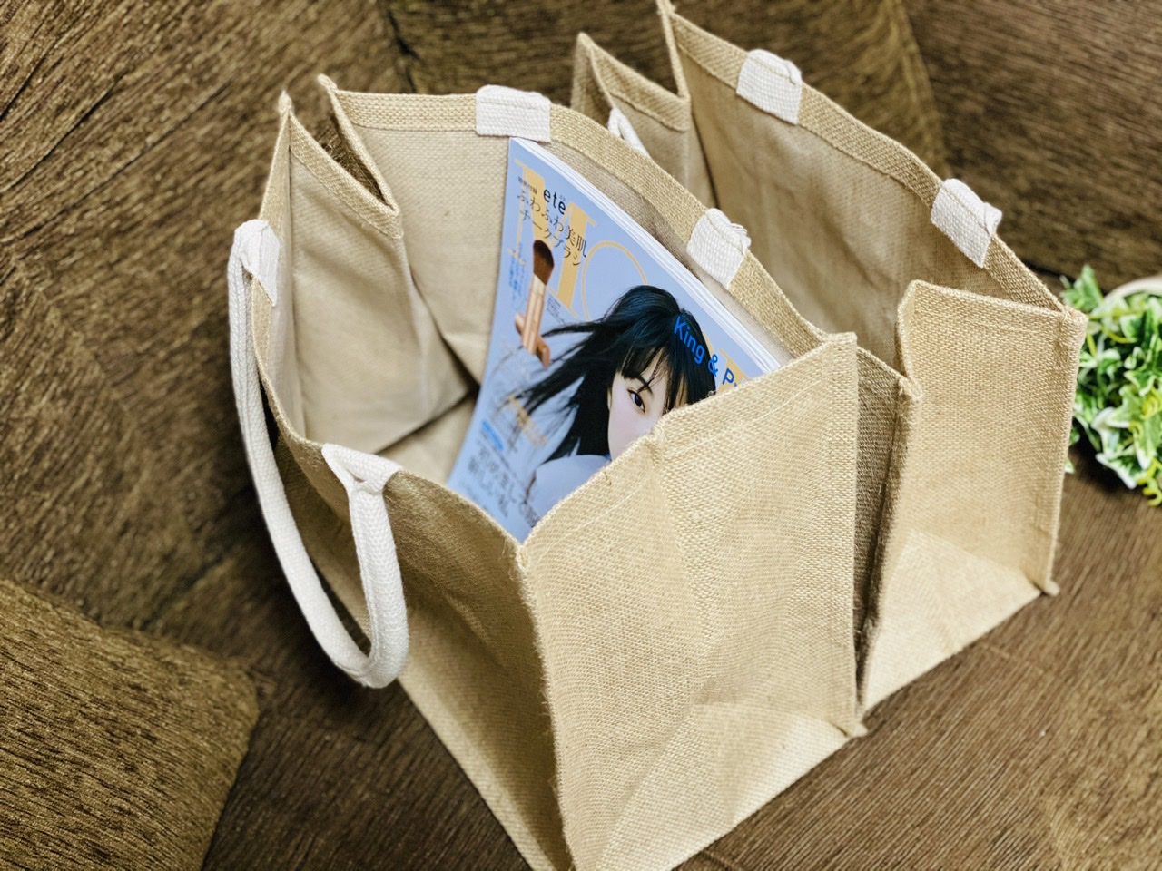 【エコバッグ】使い勝手抜群&驚きのプライス!無印良品《ジュートマイバッグ》が優秀♡_3