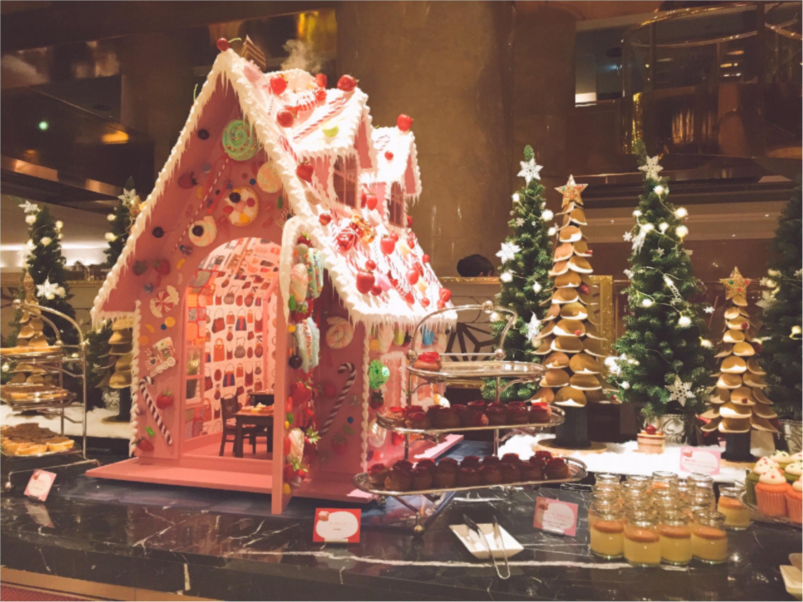 毎回大人気!ヒルトン東京のデザートブッフェ!夢のような『お菓子の家』の世界へ…♡*_1