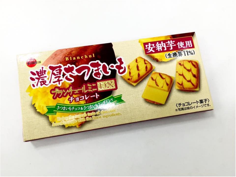【新発売】ブランチュールミニDX 濃厚さつまいもチョコレートがすごい!!_1