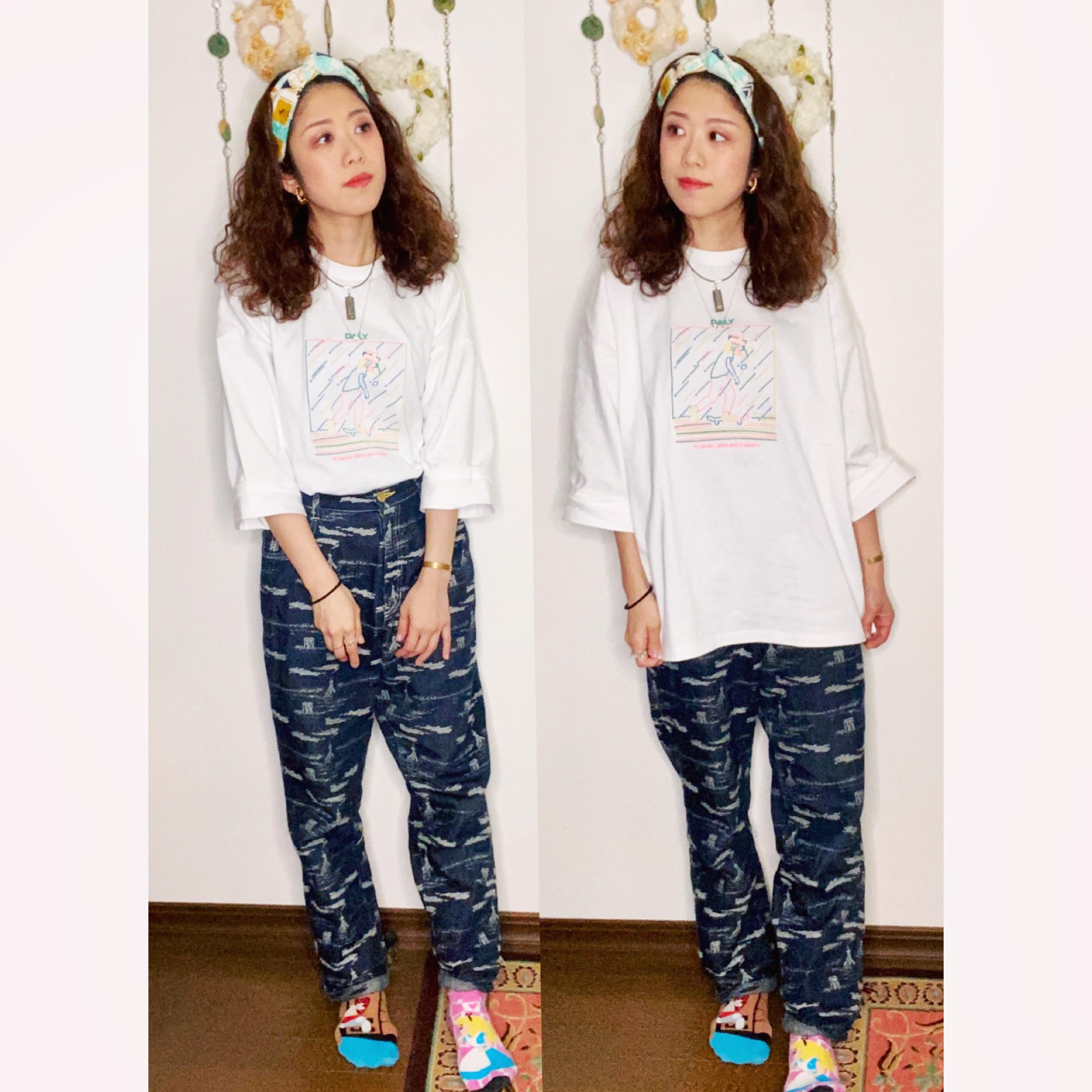 【オンナノコの休日ファッション】2020.8.14【うたうゆきこ】_1