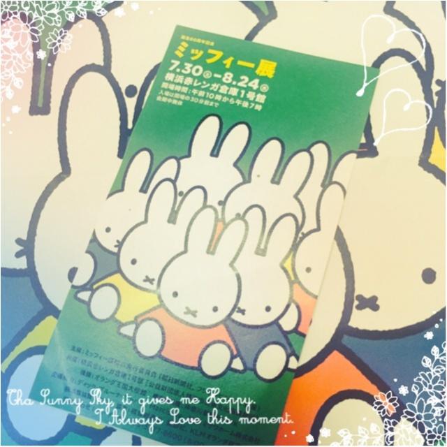 【8/24まで】生誕60周年♡ミッフィー展が横浜赤レンガ倉庫で開催中!_1